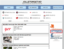 Tablet Preview of jolletorget.no